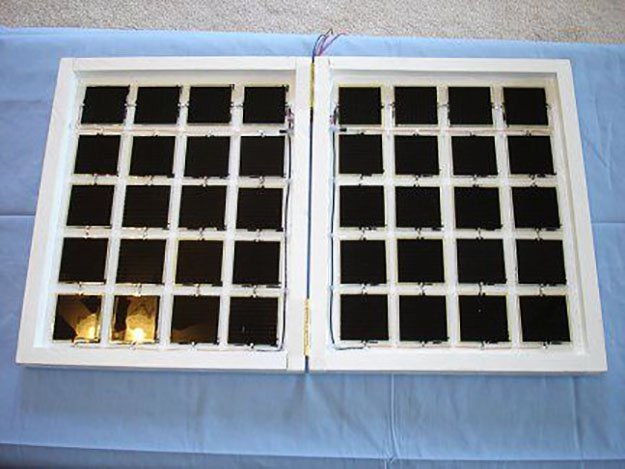 folding 15 watt solar panel