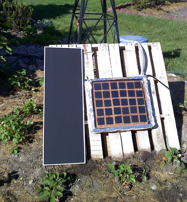home built solar power system