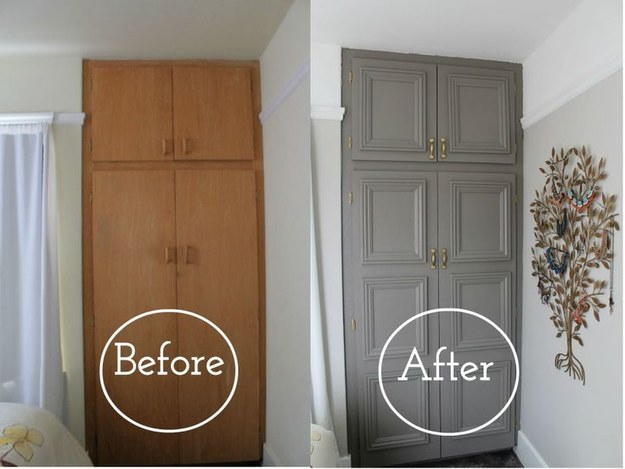 Awesome Make Old Cabinets Look New With Moulding The Diy Life Download Free Architecture Designs Licukmadebymaigaardcom