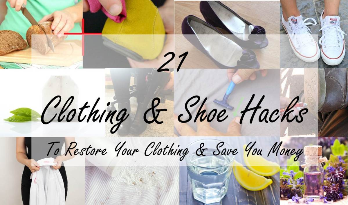 21 Ingenious Clothing & Shoe Hacks To Save You Money