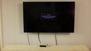 using your tv limiting device, tv off