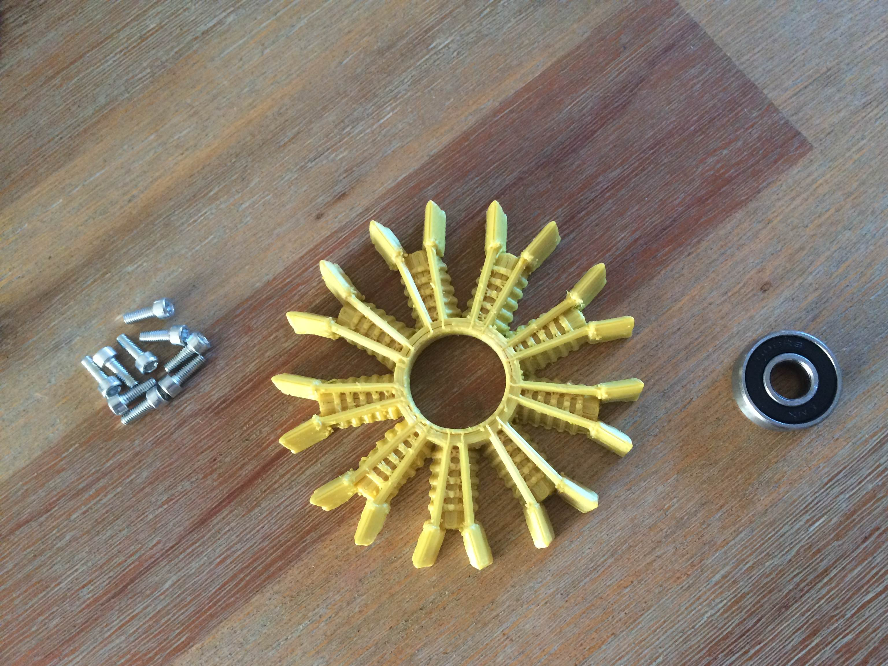 3d print your own radial engine fidget spinner the diy life