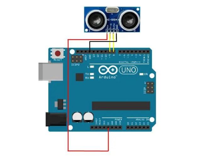 Ultrasonic Sensor Serial Monitor