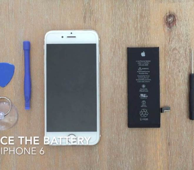 How to Replace The Battery On An iPhone 6 or 6s