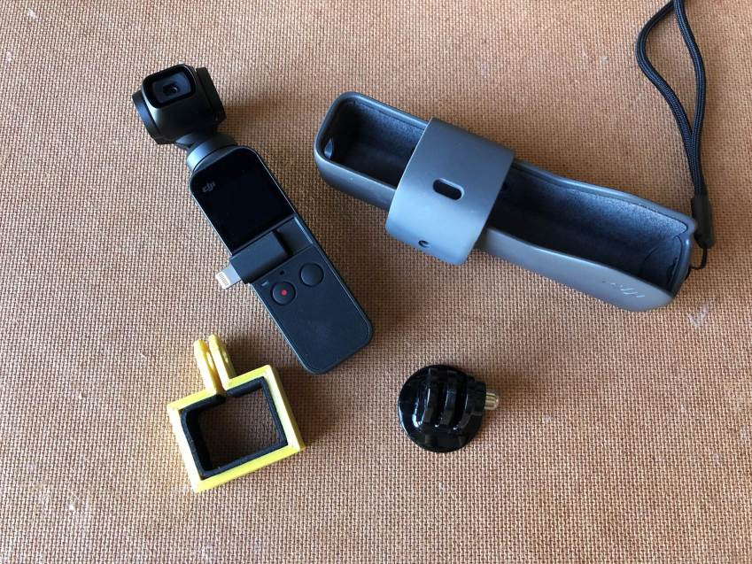 3D Printed GoPro Mount For DJI Osmo Pocket