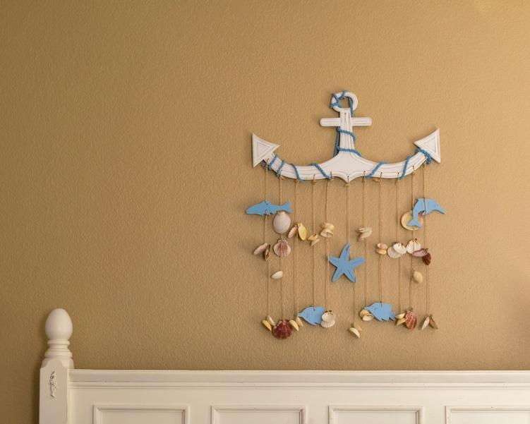 beach theme wall hanging