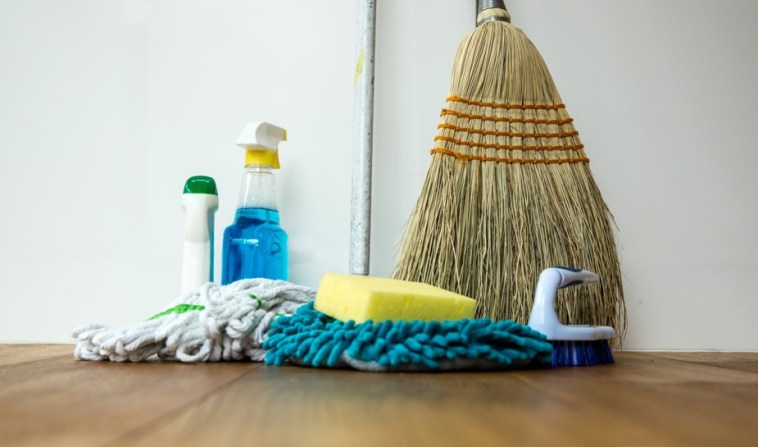 Stock Up On Cleaning Products