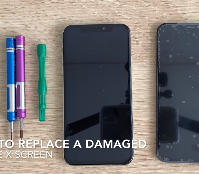 How To Replace A Shattered or Damaged iPhone X Screen, Step By Step