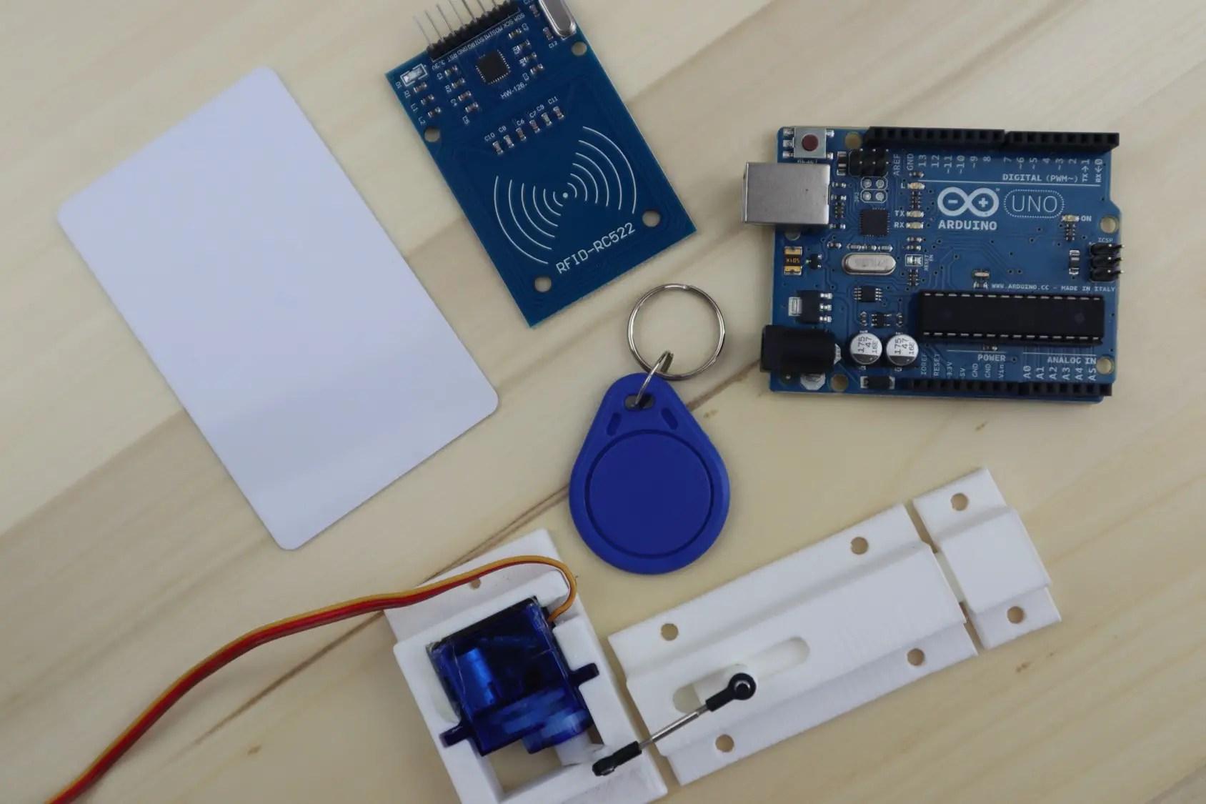 arduino based rfid door lock  make your own  the diy life