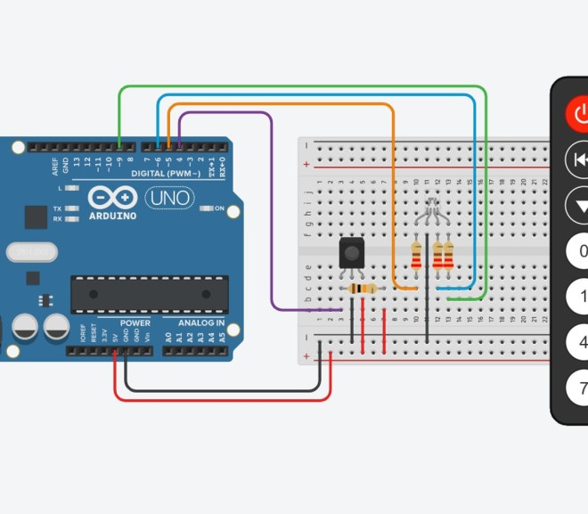 Controlling An Arduino With An Infrared Remote Control