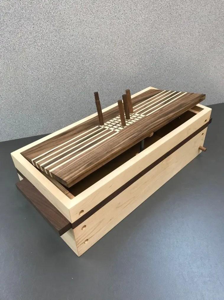 Wooden Combination Puzzle Box