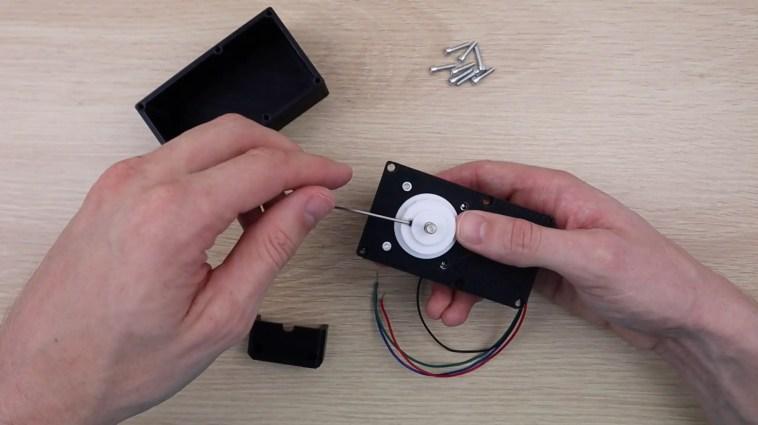 Assembling The Blind Opener Case