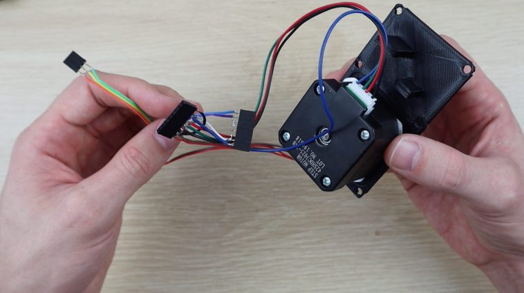 Connecting Wiring Harness To Stepper Motor