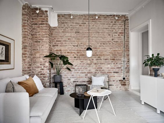 Statement Wall In Living Room