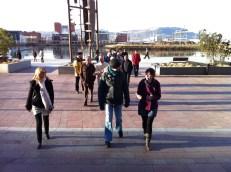 Dock Walking in the sun...