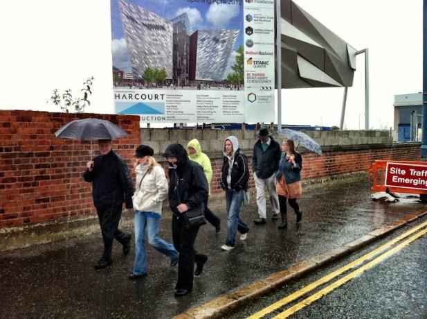 Dock Walking in the rain...