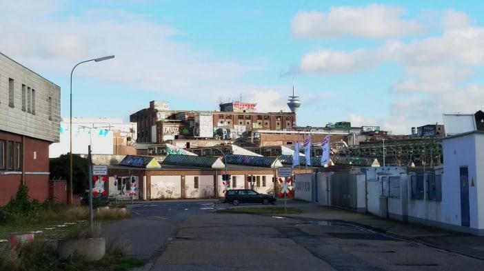 Die Papierfabrik Hermes im Hafen (11/2015)