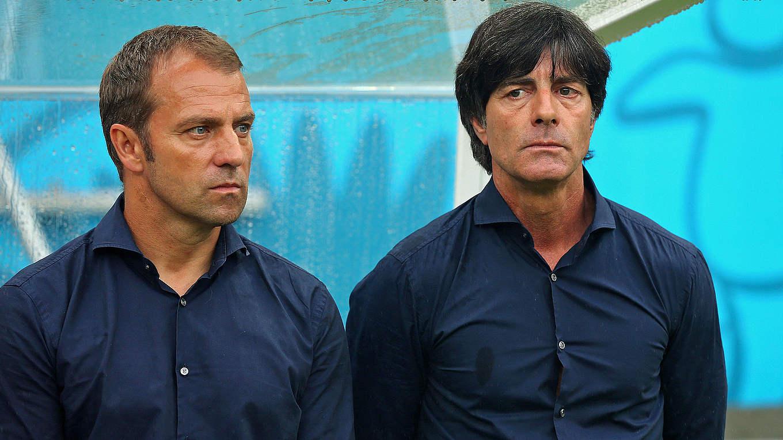 Der Hansi und der Jogi (Foto: DFB)