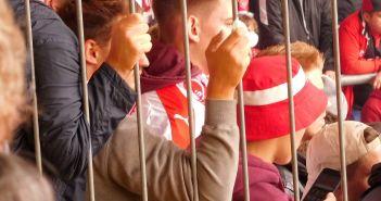 Verschiedene Fans in Bielefeld - ein Ausschnitt