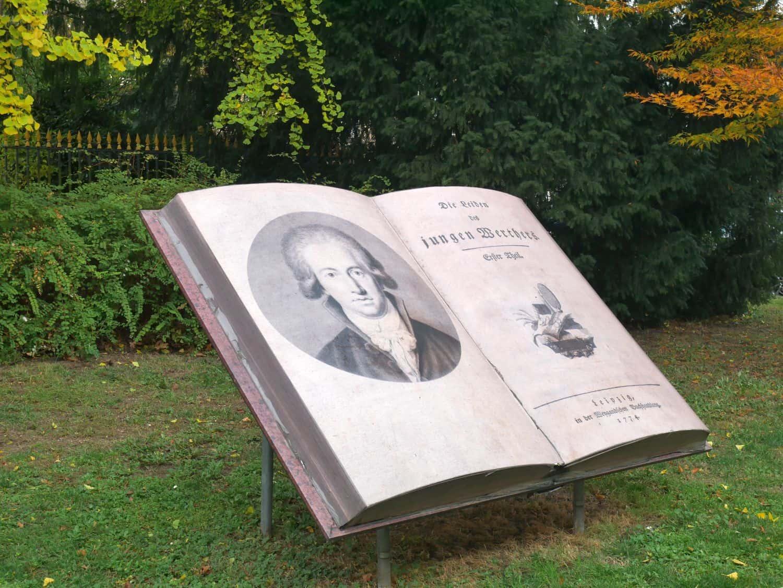 Goethe am Schloss Jägerhof