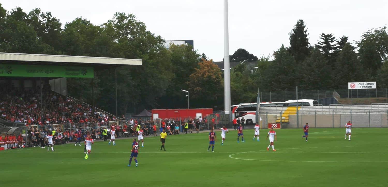 F95 vs SD Eibar zur Saisoneröffnung 2019 im PJS