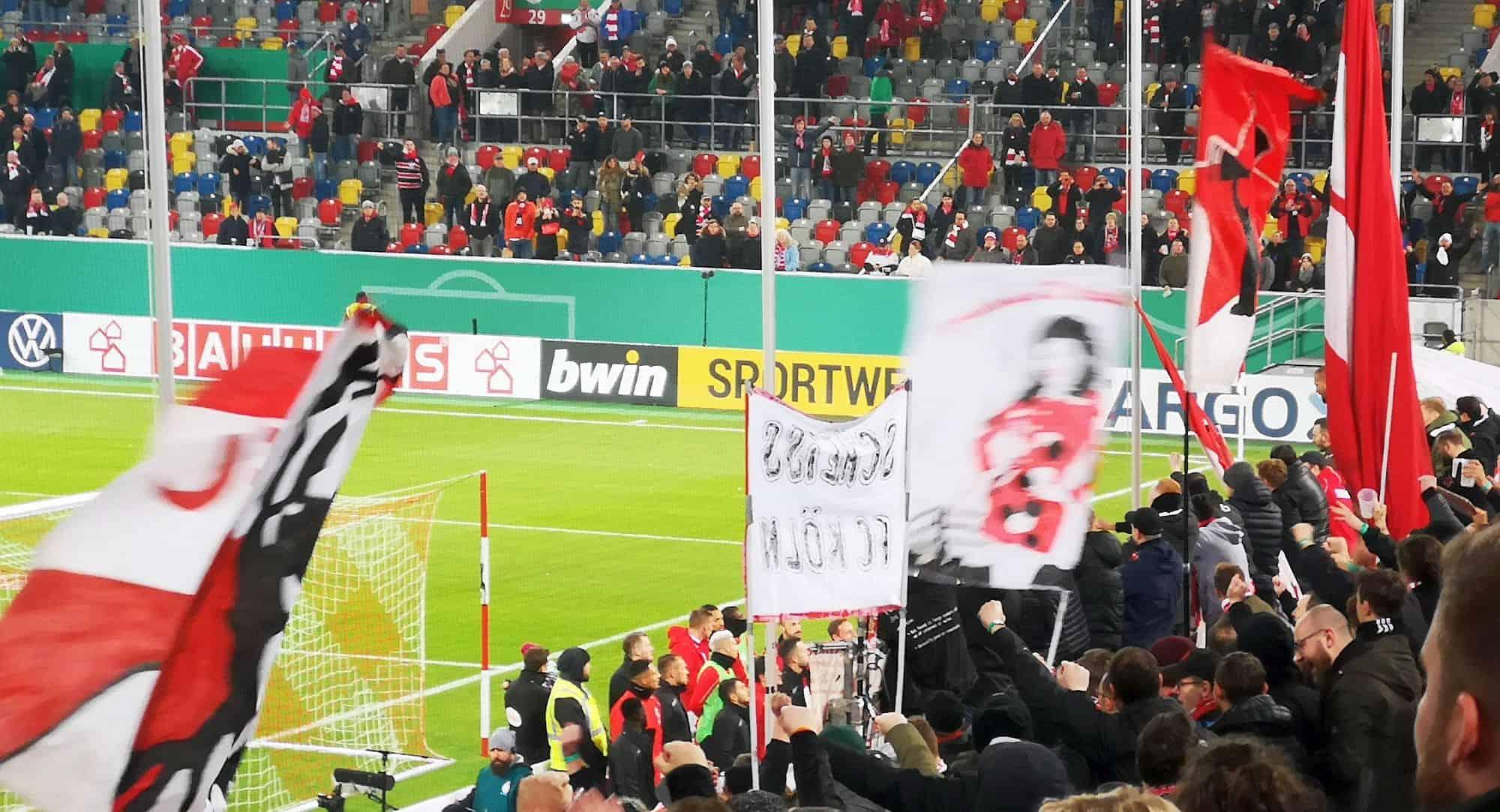 F95 vs Aue: Ultras und Mannschaft im Dialog