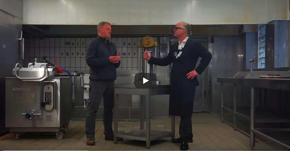 Wurstschöpfer Peter Inhoven, interviewt von Konrad Buck