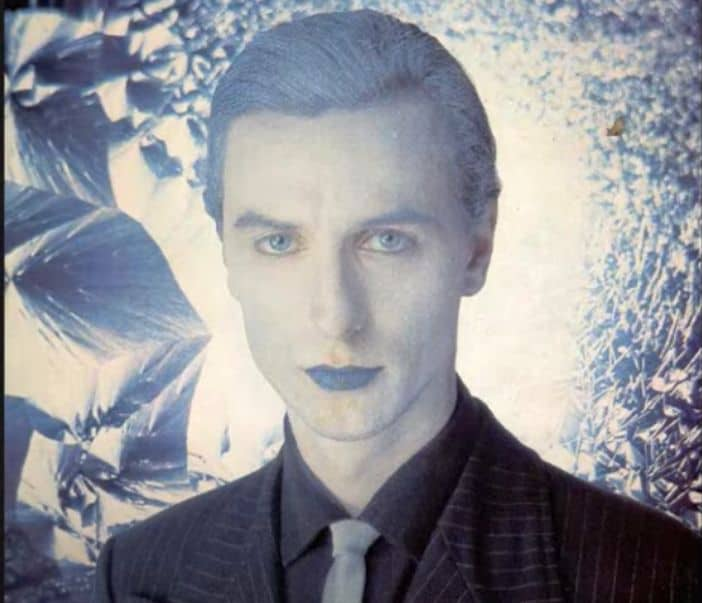 "Wolfgang Riechmann auf dem Cover der LP ""Wunderbar"" (via bureau-b.com)"