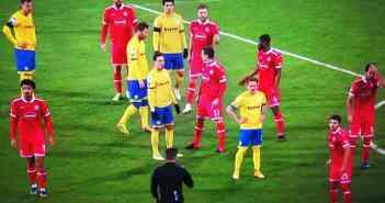 Braunschweig vs F95: Gemischte Farben, keine Tore (Sky-Screenshot)