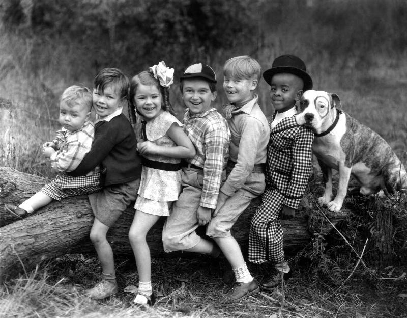 """Die kleinen Strolche aka Little Rascals oder """"The Gang"""" (Foto: public domain)"""