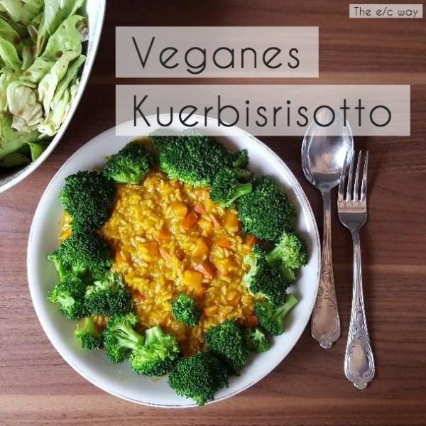 Veganes Kürbisrisotti mit Brokkoli – für mehr Farbe, Geschmack, Vitamine und Eisen