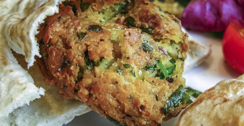 Alles selbst gemacht - veganer Falafel Dürüm