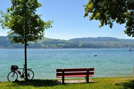 Mit dem Bike um den Zürisee macht dich fit in Zürich
