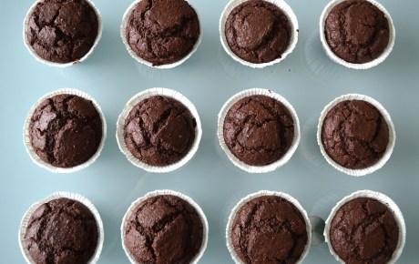 Vegane Schoko-Lava-Muffins