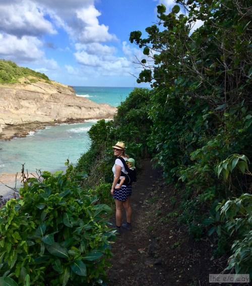 Wandern auf Martinique mit ganzen Familie: der Rundweg Caravelle ist auch mit Kind kein Problem