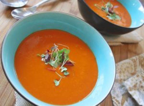 Fruchtiges Herbstglück: Vegane Rote Linsen-Suppe mit Mango