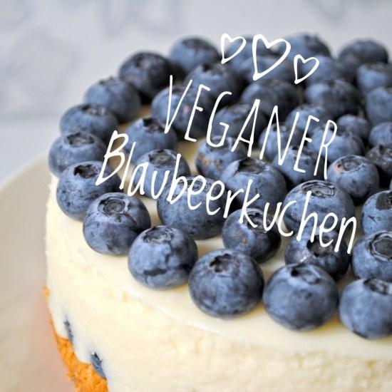 Veganer Blaubeerkuchen