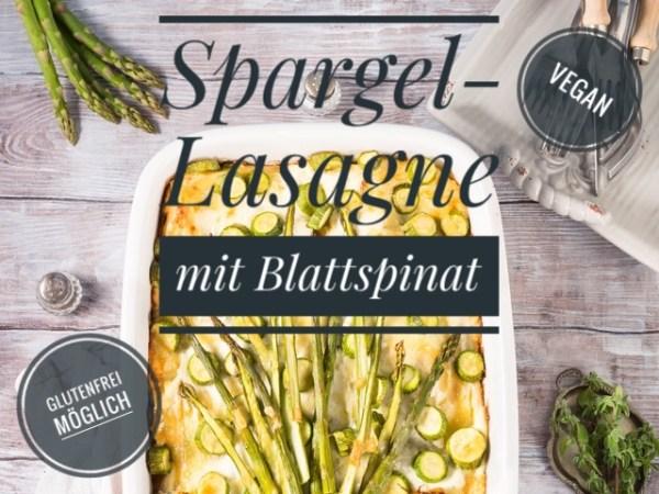 Vegane Spargel-Lasagne