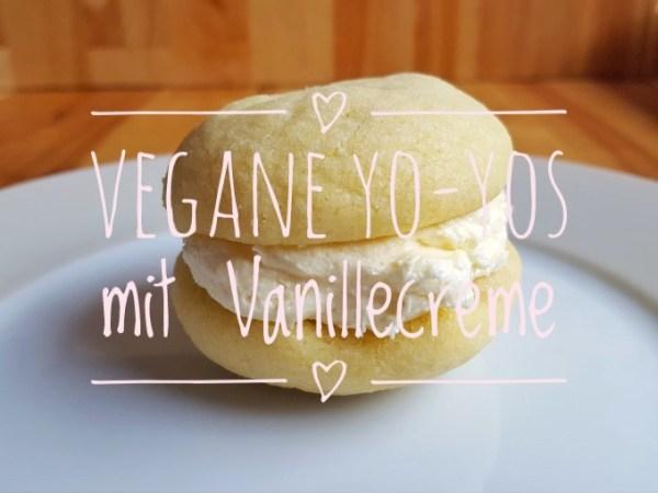 Vegane Yo-Yos mit Vanillecreme