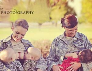 Breastfeeding Military Moms