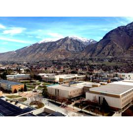 View of BYU from the top of the SWKT, 2014