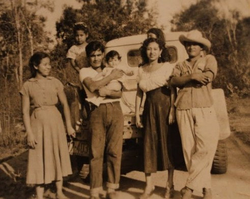 Abuela is 2nd from the right