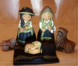 Peru Nativity Set