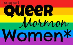 I support queer mormon women