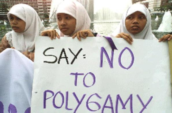 no to polygmay