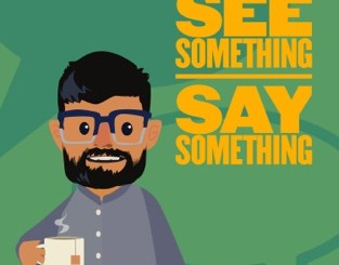 logo of th See Something Say Something podcast