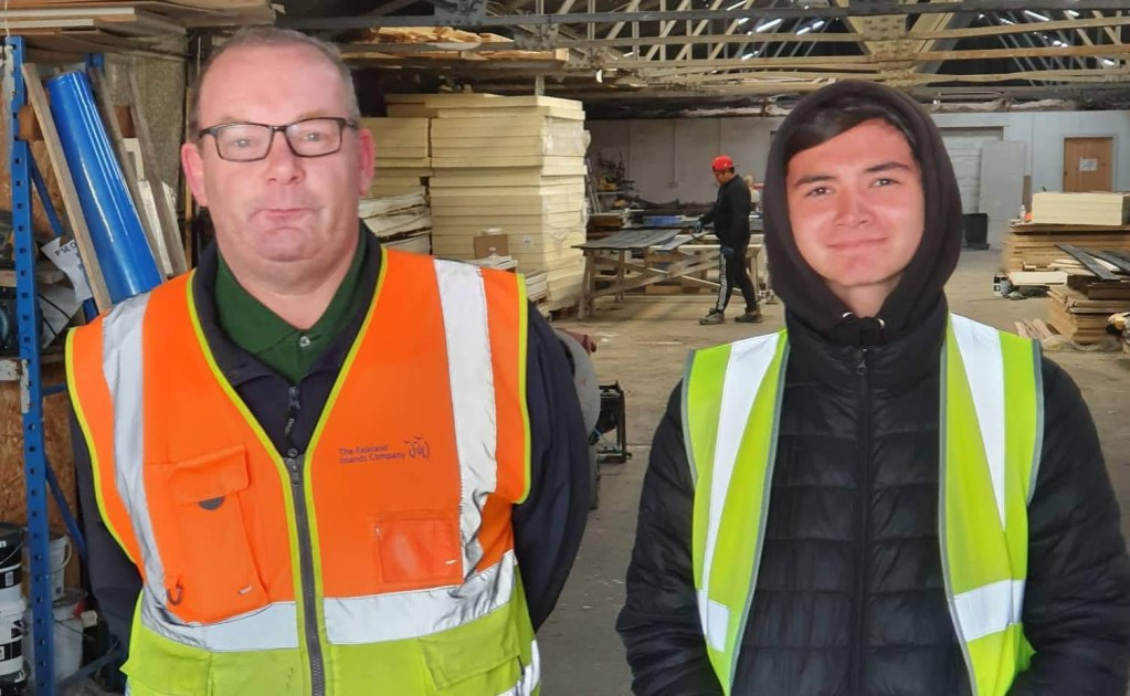 Kieran Joins Plumbing Department for Work Experience