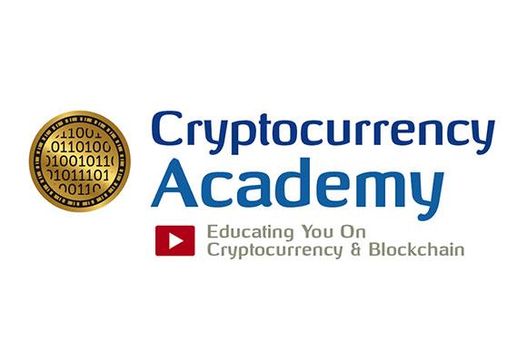 Cryptocurrency Academy logo ontwikkeling