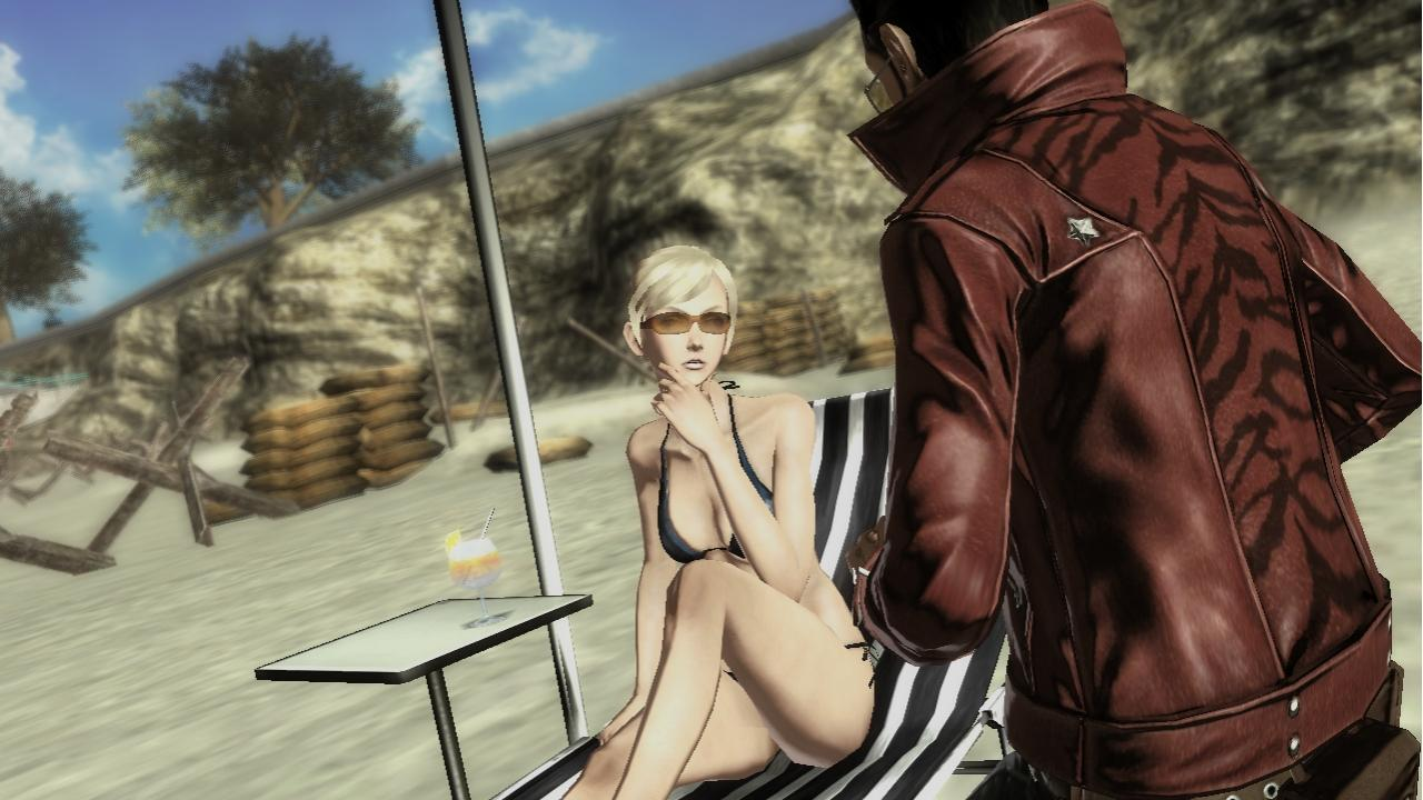 Image result for no more heroes sylvia and travis