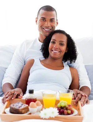 Breakfast in bed © Wavebreakmedia Ltd | Dreamstime.com